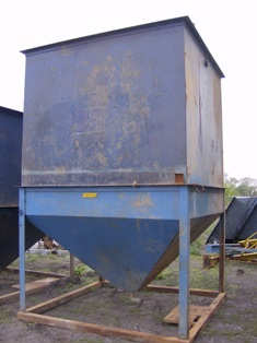 Met-Chem style 75 GPM inclined plate used clarifier